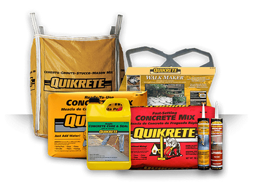 Cements : Quickrete, Redimix, and Bagged Cement in New Jersey